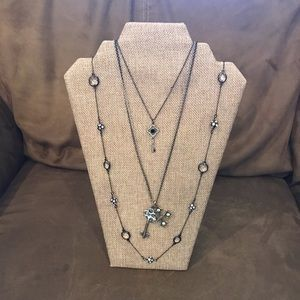 Three Stella and Dot necklaces